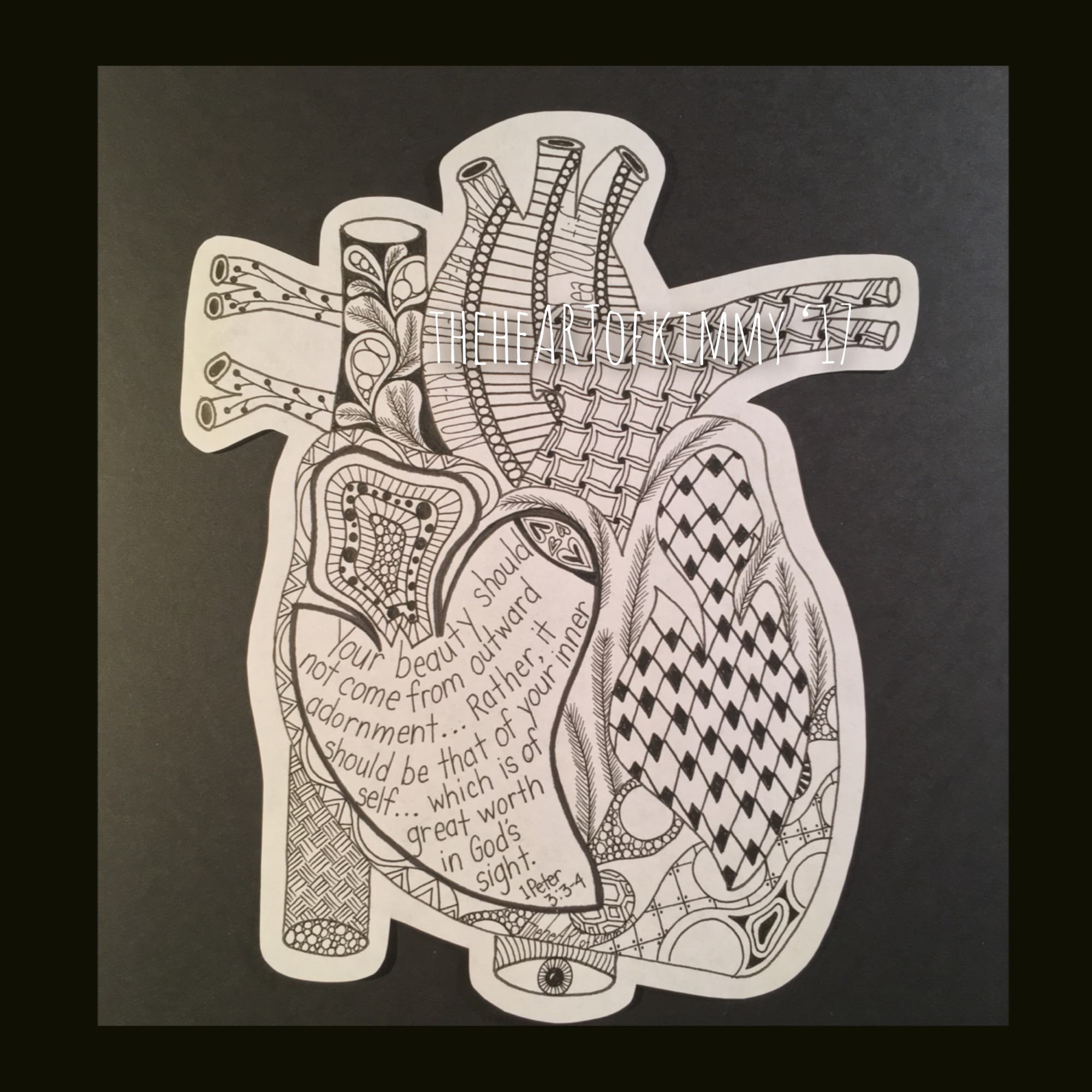 AnatomicalHeartZentangle